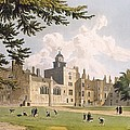 Charter House From The Play Ground by William Westall