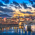 Chattanooga Evening After The Storm by Steven Llorca