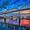 Chattanooga Sunset 3 by Steven Llorca