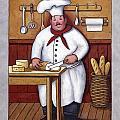Chef 3 by John Zaccheo