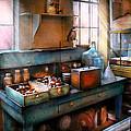 Chemist - Making Glue by Mike Savad