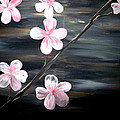 Cherry Blossom  Print by Mark Moore