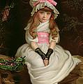 Cherry Ripe Print by Sir John Everett Millais