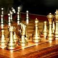 Chess Set  by Diane Merkle