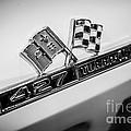 Chevy Corvette 427 Turbo-jet Emblem by Paul Velgos