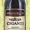 Chianti And Friends Panel 1 by Debbie DeWitt