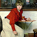 Chica In A Bar by Ramon Casas i Carbo