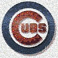 Chicago Cubs Mosaic by David Bearden