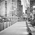 Chicago Downtown City Riverwalk by Paul Velgos
