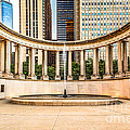 Chicago Millennium Monument In Wrigley Square by Paul Velgos