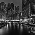Chicago Riverwalk by Eddie Yerkish