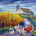 Chickens In The Cornfield by Peggy Wilson