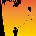 Childhood Dreams 1 The Kite by John Edwards