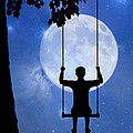 Childhood Dreams 2 The Swing by John Edwards