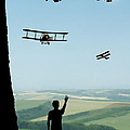 Childhood Dreams The Flypast by John Edwards