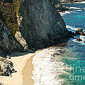 China Cove At Point Lobos State Beach by Artist and Photographer Laura Wrede