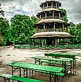 Chinesischer Turm I by Hannes Cmarits