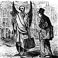 Cholera In Slums, 1866 by Granger