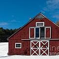 Christmas Barn by Edward Fielding