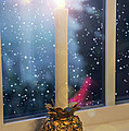 Christmas Candle by Brian Wallace
