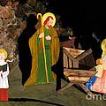 Christmas Crib Scene by Gaspar Avila
