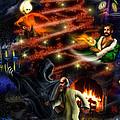 Christmas Greeting Card by Alessandro Della Pietra