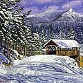 Christmas In New England by David Lloyd Glover