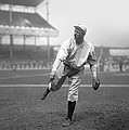 Christy Mathewson Pitching by Retro Images Archive