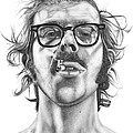 Chuck Close by Kalie Hoodhood