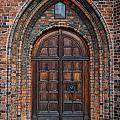 Church Door by Antony McAulay