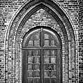 Church Door Monochromatic by Antony McAulay