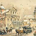 Church Of St Peter And Paul In Krakow by Stanislawa Kossaka