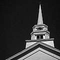 Church Steeple Stowe Vermont by Edward Fielding