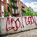 Cincinnati Glencoe Hole Graffiti Picture Print by Paul Velgos