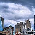 Cincinnati Skyline Clouds by Mel Steinhauer