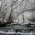 Cinderella Falls In Winter by Rachel Hallmark