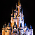 Cinderella's Castle In Magic Kingdom by Adam Romanowicz