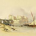 Citadel Of Sidon by David Roberts