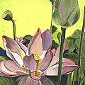 Citron Lotus 2 by Debbie DeWitt