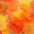 Citrus Passion - Abstract - Digital Painting by Andee Design