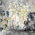 City-art Manhattan Sunflower by Melanie Viola