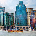 City - Baltimore Md - Harbor East  by Mike Savad