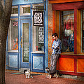 City - Baltimore Md - Waiting By Joe's Bike Shop  by Mike Savad