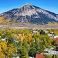 City Of Crested Butte Colorado Panorama   by James BO  Insogna