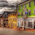 City - Providence Ri - Thomas Street by Mike Savad