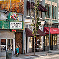 City - Roanoke Va - Down One Fine Street  by Mike Savad