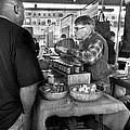 City - South Street Seaport - New Amsterdam Market - Apples And Mustard by Mike Savad