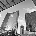 Citycenter - View Of The Vdara Hotel And Spa Located In Citycenter In Las Vegas  by Jamie Pham