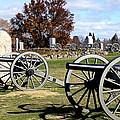 Civil War Cannons At Gettysburg National Battlefield by Brendan Reals