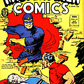 Classic Comic Book Cover - Mystery Men Comics - 1200 by Wingsdomain Art and Photography